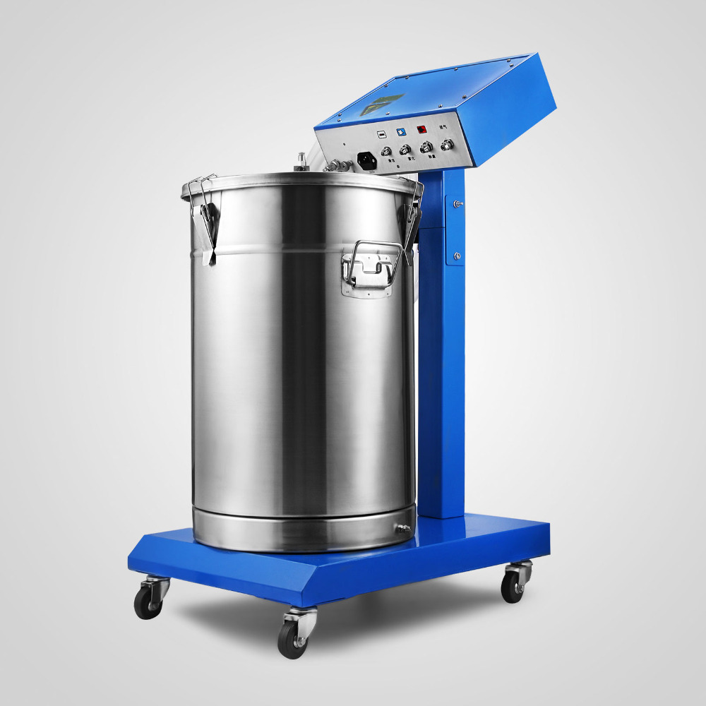 Heavy Duty spray chrome powder paint system coating machine