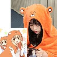 Japanese Anime Himouto Umaru Chan Cloak Doma Umaru Cosplay Costume Flannels Cloaks Home Dress Blanket Soft