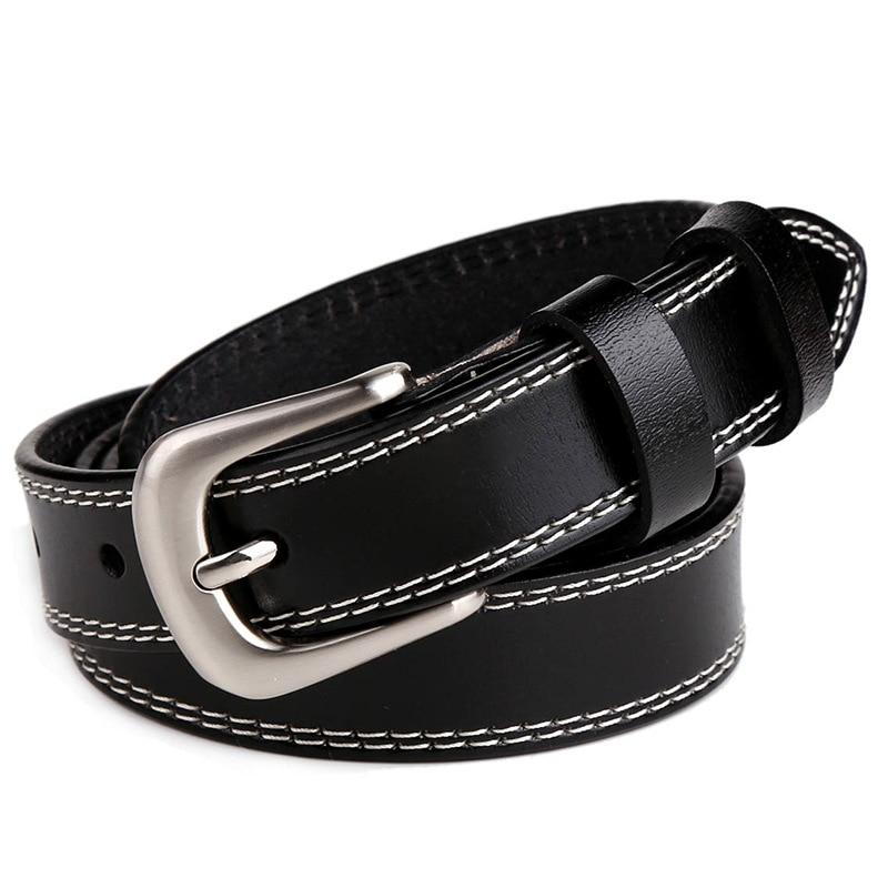 Belt women leather belt strap woman genuine leather luxury fashion pin buckle belts for women belt Cummerbunds ceinture homme