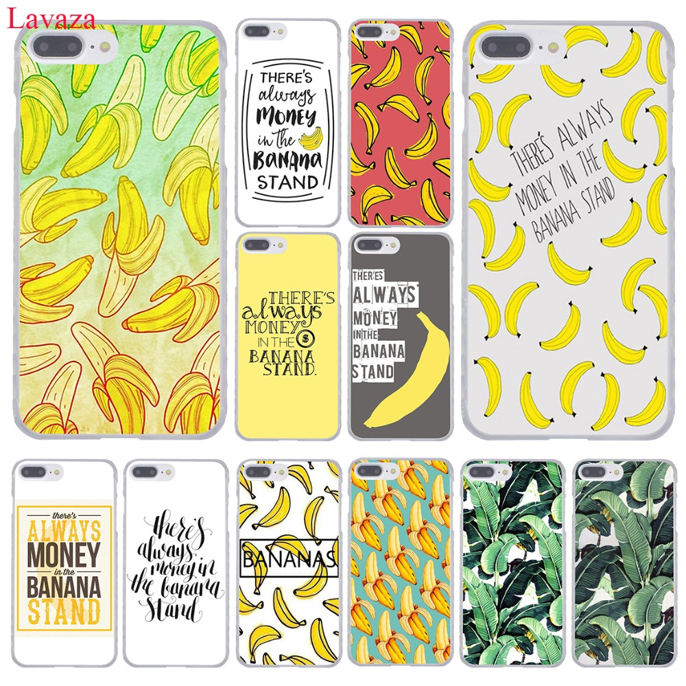 Lavaza There&#8217;s Always Money in the Banana Stand Hard Phone <font><b>Case</b></font> for Apple <font><b>iPhone</b></font> 8 7 6 6S Plus X <font><b>10</b></font> 5 5S SE 5C 4 4S