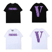 2019 Summer Cotton Men T-shirt Loose Fit T shirt High Street Tshirt Graphic Tees Short Sleeve Tops Size S M L XL