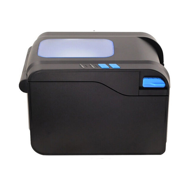 Label Barcode Printer Thermal Receipt or Label Printer 20mm to 80mm Thermal Barcode Printer automatic stripping XP- 370B 4