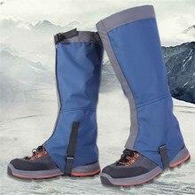1 пара уличных снежных наколенников для катания на лыжах, походов, альпинизма, защита ног, Спортивная безопасность, Водонепроницаемые Гетры, аксессуары для лыж