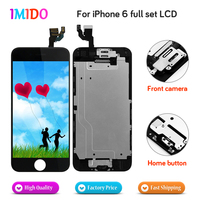 Made In China Full Set LCD Display For IPhone 6 Display Touch Screen Home Button Front