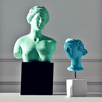 Venus Figure Statue Bust Resin Craftwork Home Furnishing Articles Art Head Portraits Goddess Of Beauty Bnd Love L2739