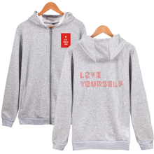 Bangtan7 Love Yourself Zipper Hoodies (5 Colors)