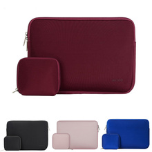 Mosiso 15.6 inch Waterproof Laptop Sleeve Bag with Small Case for MacBook Pro 15 Notebook Handbag China Wholesale