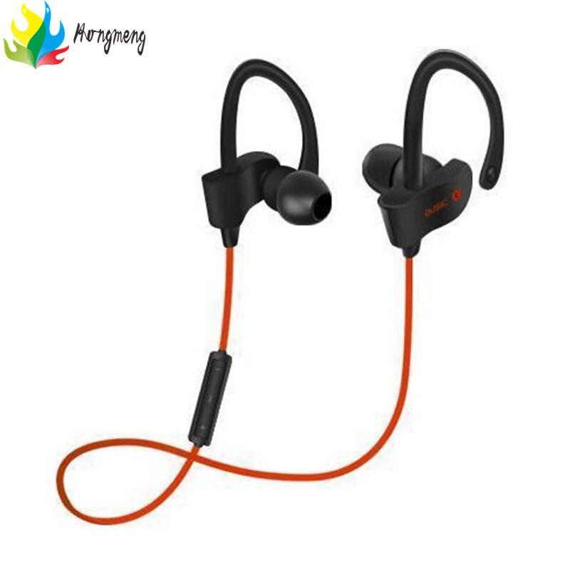 Hongmeng Sport Bluetooth 4.1 Wireless Stereo Headset Sweatproof Earbud Earphone headphones for a mobile phone