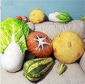 Pillow fruits and vegetables, potatoes, cabbage mushrooms stuffed toy pillow cushions, creative birthday gift, Christmas gift