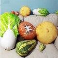 Travesseiro frutas e legumes, batatas, repolho cogumelos brinquedo de pelúcia almofadas travesseiro, presente de aniversário criativo, presente de natal