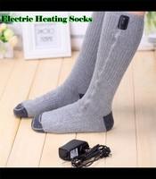 JPR Outdoor Carbon Fiber Far Infrared USB 5V 110 220V Electric Heated Socks Foot Back Or