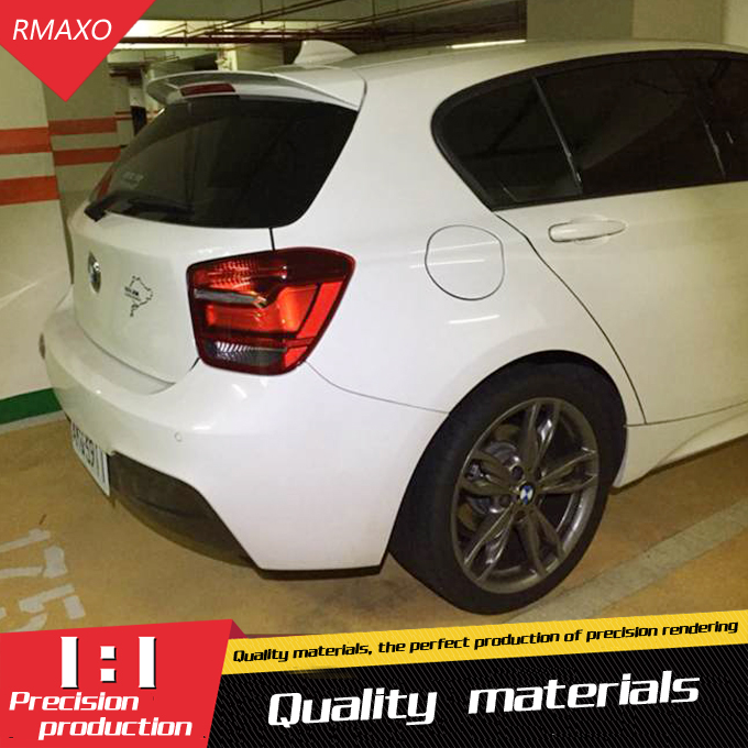 for bmw f20 spoiler abs material car rear wing primer. Black Bedroom Furniture Sets. Home Design Ideas