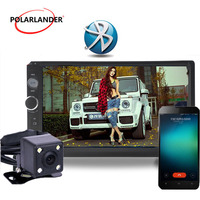 LCD Touch Screen 2 DIN Auto car Radio 7 inch Bluetooth back up monitor digital display Multimedia HD USB Mp5 player Mirror Link