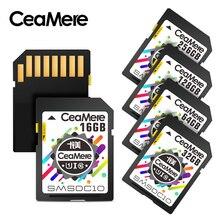 CeaMere SD כרטיס 128GB 64GB 32GB 16GB 8GB 4GB XC HC פלאש זיכרון כרטיס כיתת 10 UHS I מיקרו sd כרטיס 128GB עבור מצלמה זרוק חינם