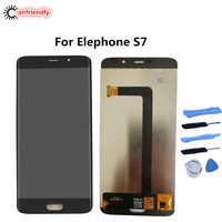 For Elephone S7 S 7 5 5 LCD Display Touch Screen Digitizer Assembly Replacement Glass Panel