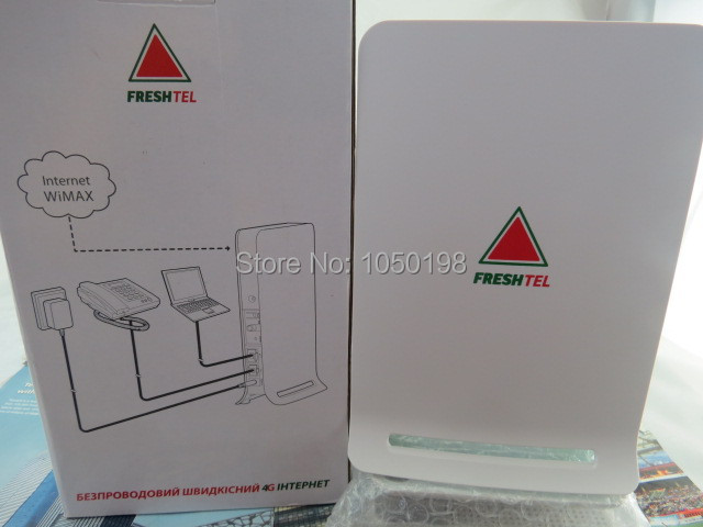 Huawei BM632w 3.5Ghz WiMAX 4G Wi-Fi CPE Router huawei bm 635 indoor cpe wimax router supports web ui configuration tool