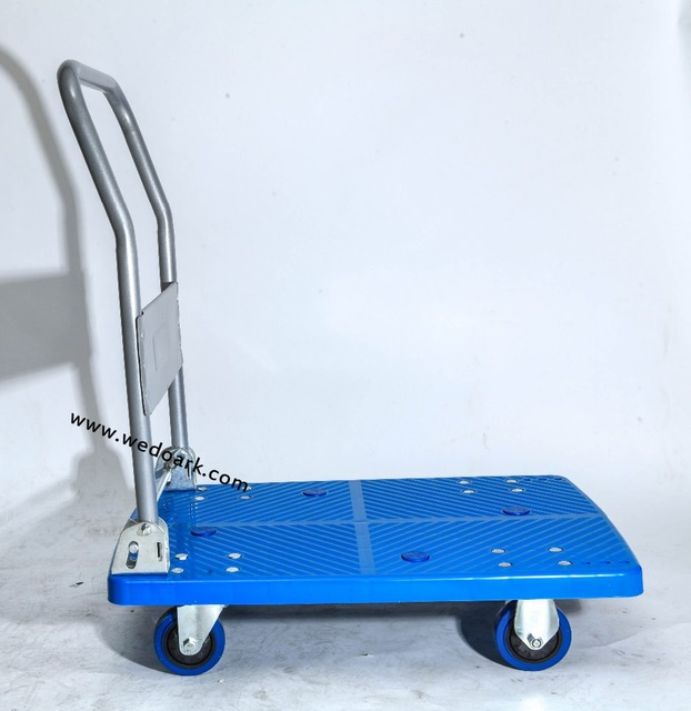 FIVERI Hand Folded Trolley 350Kg Rubber Caster Wheel Cart