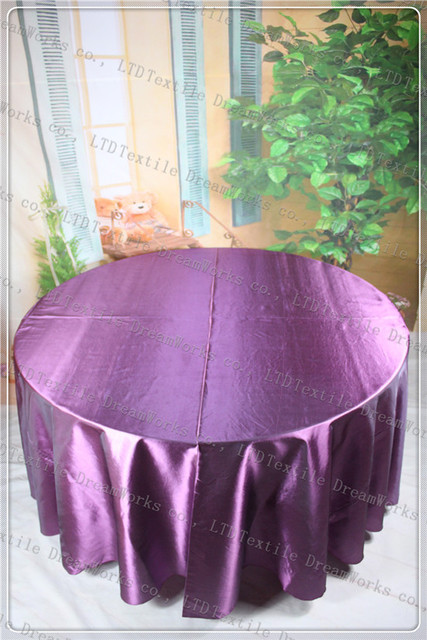 Charmant Plum Color Taffeta Tablecloth For Wedding Eventu0026Partyu0026Hotelu0026Banqet  Supplies/Decoration(Chair Coveru0026Bandu0026Backdropu0026Napkins)
