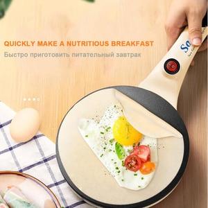 Image 3 - Electric Crepe Maker Pizza Pancake Machine Non Stick Griddle Baking Pan Cake Machine Kitchen Cooking Tools Sonifer