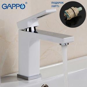 Image 4 - GAPPO Sanitary Ware Suite brass water tap chrome bathroom bath faucet mixer bathtub tap with basin faucet mitigeur baignoire