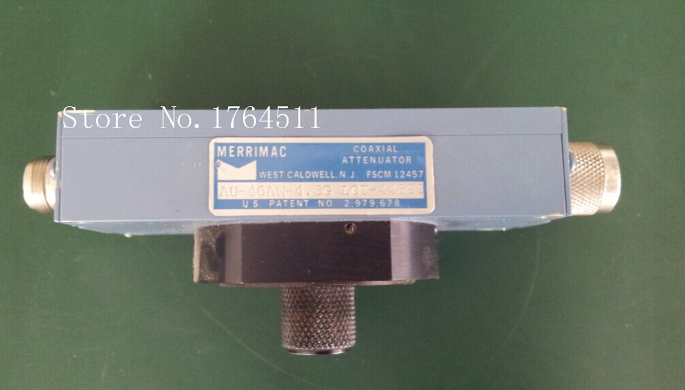 [BELLA] MERRIMAC AU46AN-4.3G DC-4.3G 55dB RF Microwave Adjustable Continuation Variable Attenuator