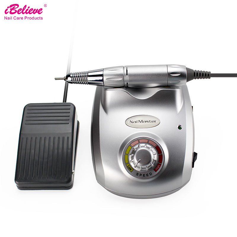 iBelieve Pro Electric Nail Drill 35000rpm Nail Art Manicure Equipment for Pedicure Files Electric Manicure Drill