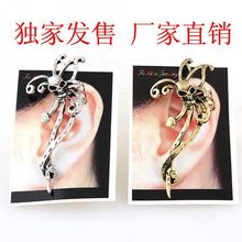 2019 E210 Manufacturers Selling European And American Pop Punk Wind Restoring Ancient Ways Skeleton Ghost Ear Clip Earrings