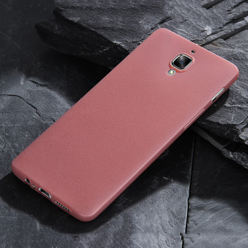 huge discount 383ba a6173 For Oneplus 3T Case A3010 Sandy Feel Matte Case Soft Silicone Cover For  Fundas One Plus 3 3T A3003 Case Smooth Full Protective