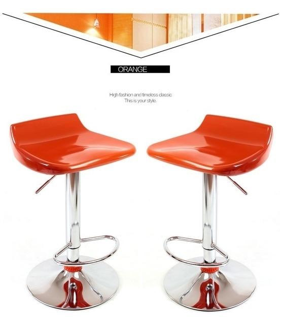 Barhocker Orange nordamerikanischen mode barhocker friseurhocker einzelhandel und
