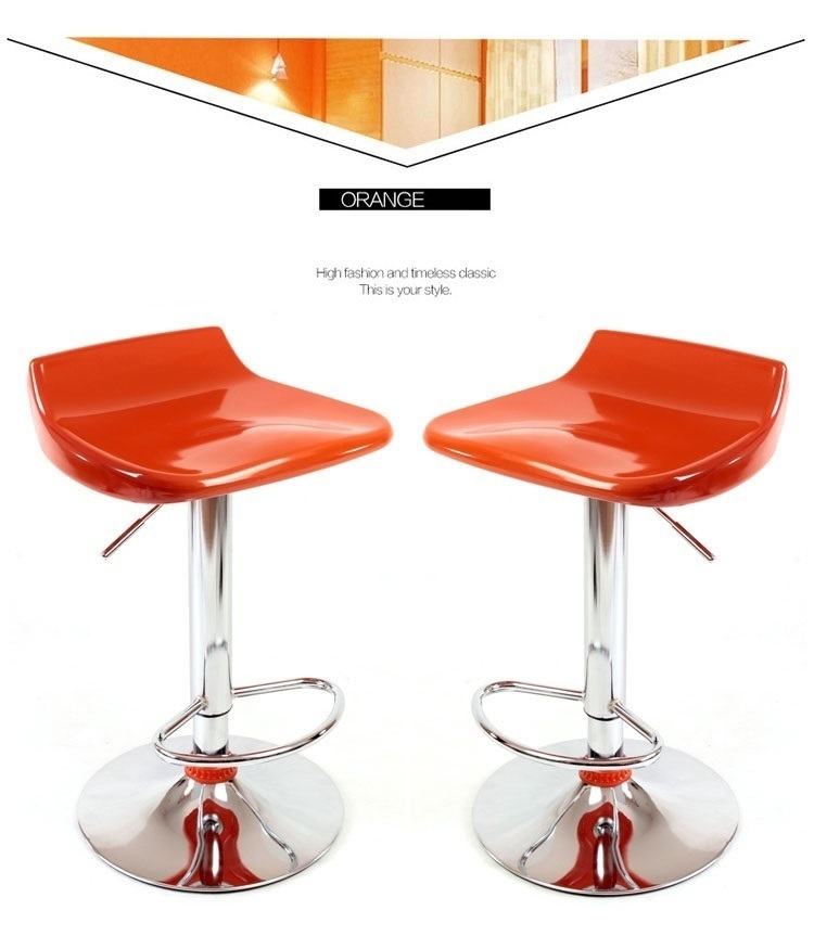 North American fashion bar stool Barber stool retail and wholesale yellow red orange white black free shipping southeast asia fashion bar stool retail red white black countryside bar pastoral style stool free shipping