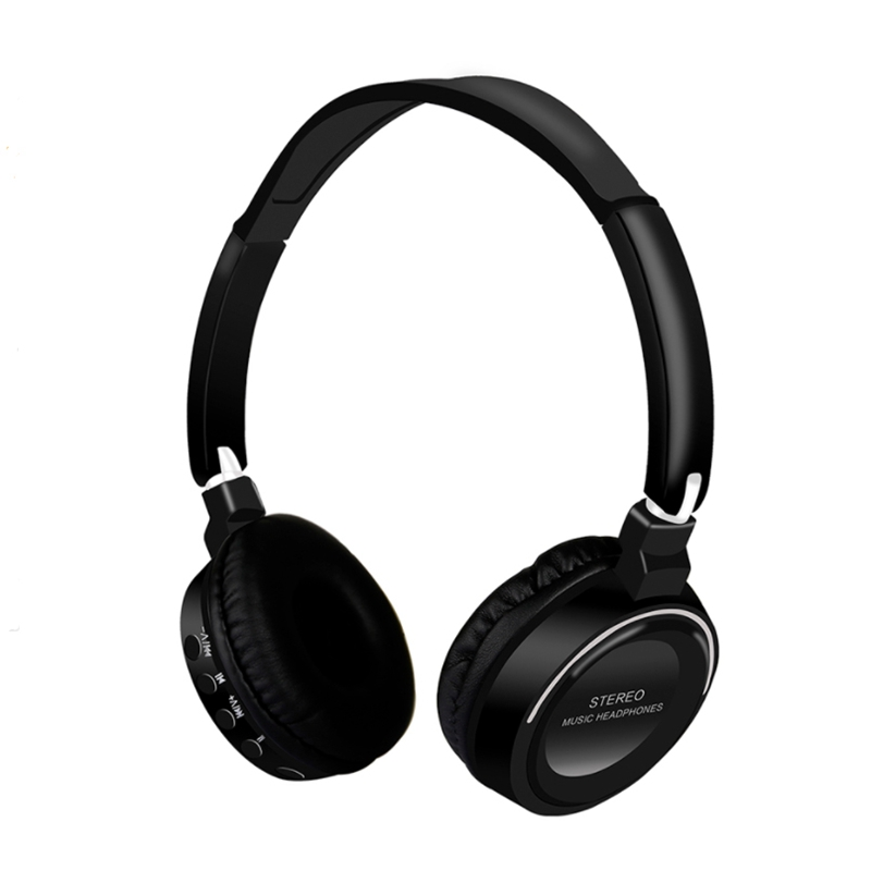 Fugn Fg-16 Bluetooth Stereo Wireless Headphones Bluetooth 4.2 Headset Foldable Design Build-In Mic Handfree Mp3 Player