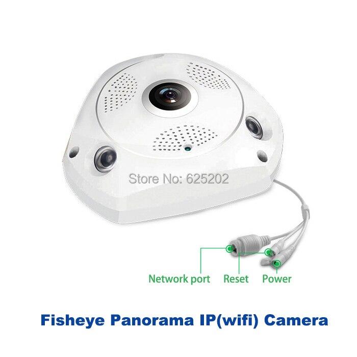 2017 heißer HD 960 P 1.3MP Fisheye Panorama SD Karte IP Wireless - Schutz und Sicherheit - Foto 4