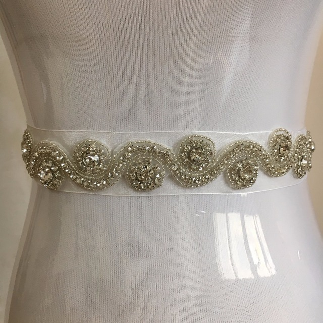 2017 Handmade luxury belt wedding sash bridal belt Rhinestones wedding sash pearl beaded Bride belt cinturon novia madrinhaPJ150
