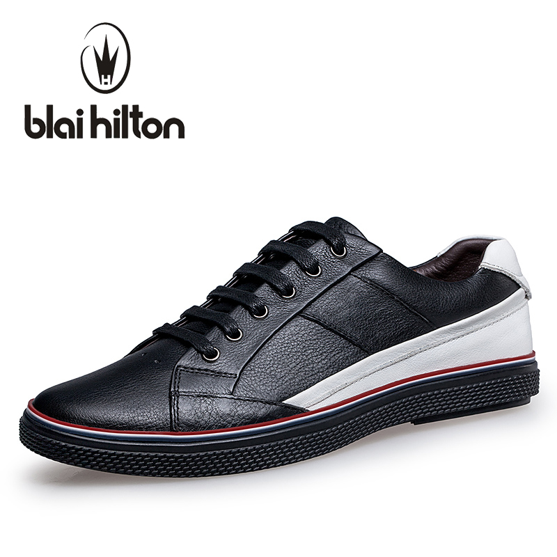 Blaibilton Brand Patchwork men casual shoes Luxury Genuine Leather Fashion Designer Breathable Mens Shoes Male Footwear SD16531 2017 italy new brand designer golden genuine leather casual men shoes goose all sport star breathe shoes footwear zapatillas