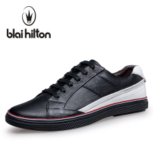Blaibilton Brand Patchwork men casual shoes Luxury Genuine Leather Fashion Designer Breathable Mens Shoes Male Footwear SD16531