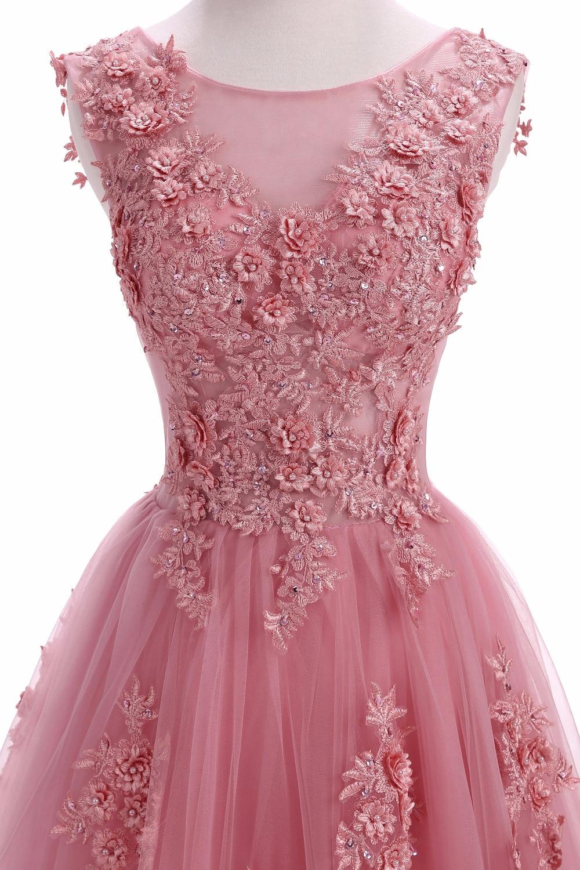 Szata De Soiree Suknie Wieczorowe Długi Plus Rozmiar Tiulu Prom Lace - Suknie specjalne okazje - Zdjęcie 4