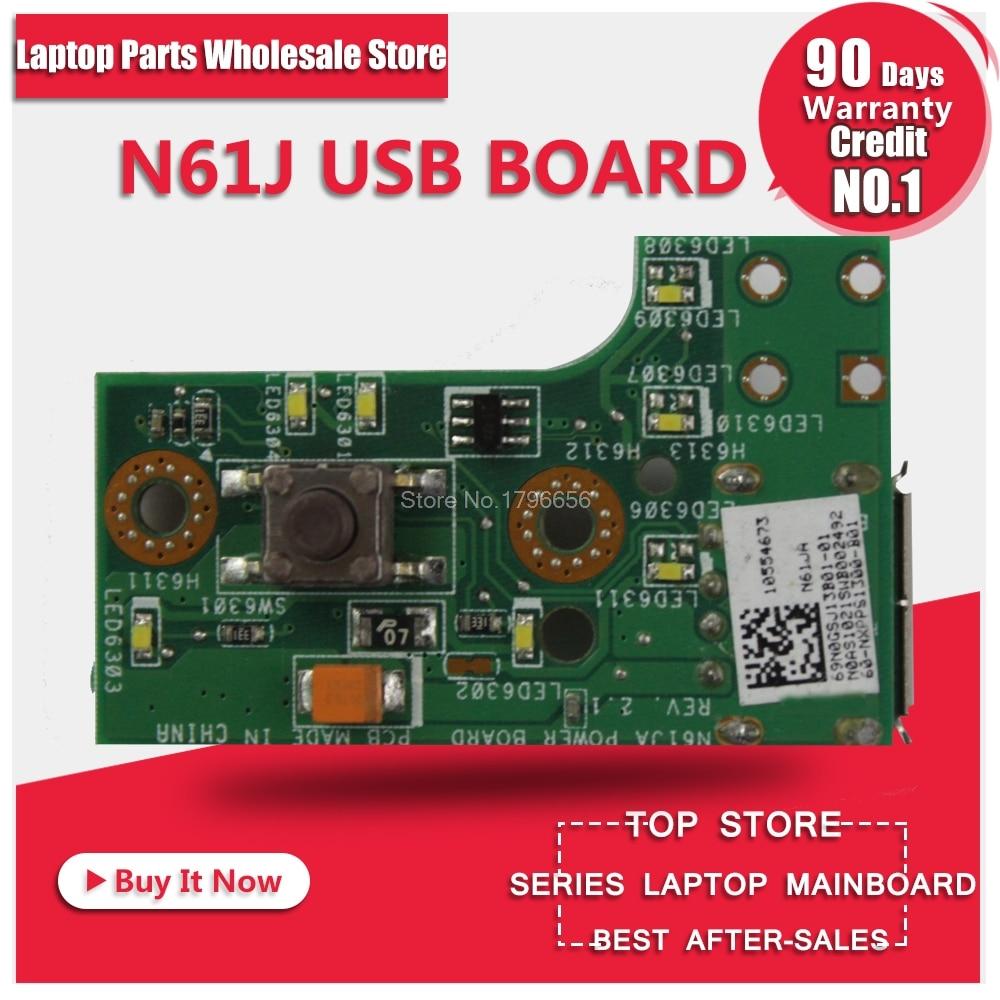 New For ASUS N61J N61JV N61JQ N61JA N61V VN N61D DA Audio USB HDMI Small Board