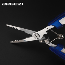 Stainless Steel Fishing Pliers with package Scissors Line Cutter