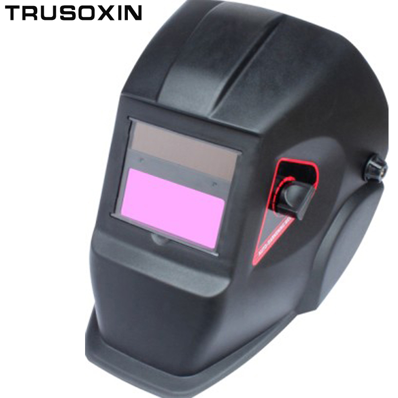 New hot selling  Li Battery+Solar auto darkening welding helmet/ mask/welding goggles for the welder operate the welding machine 100x50mm welding goggles welding tools with automatically dimming glasses welding caps hot red welding mask helmet dhcp 27