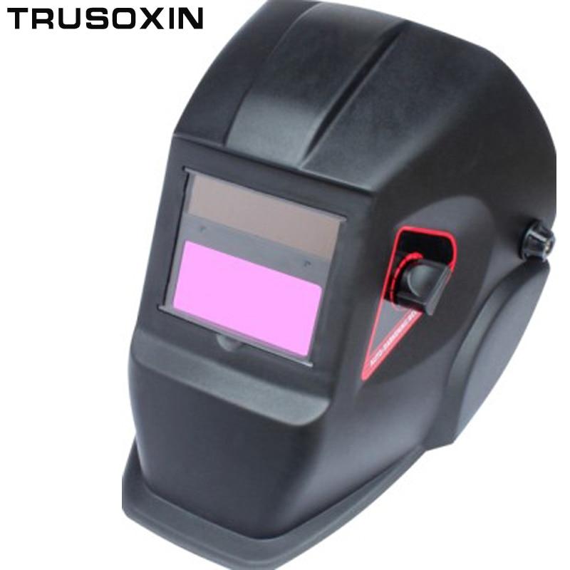 New hot selling  Li Battery+Solar auto darkening welding helmet/ mask/welding goggles for the welder operate the welding machine cnim hot auto darkening welding helmet