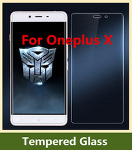 0.26mm 9H 2.5D Oneplus X Tempered Glass 100% New High Quality Screen Protector Film Phone Case for Oneplus X 5.0inch Smartphone