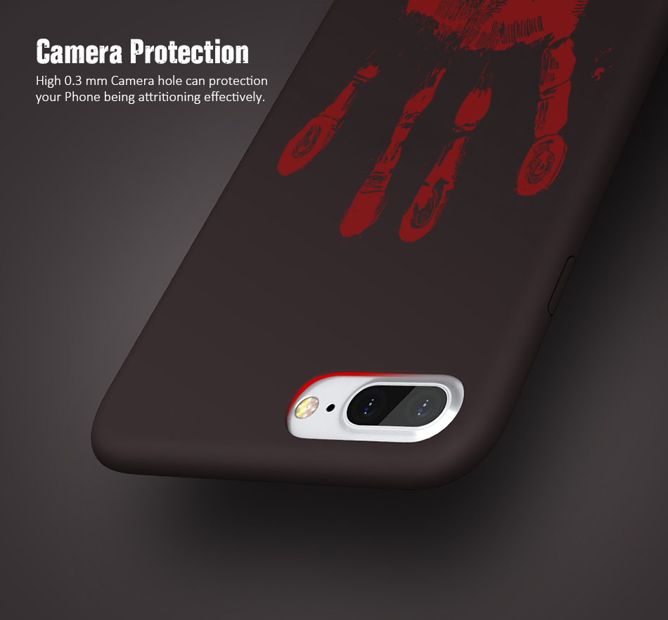 FLOVEME Thermal Discoloration Protective Phone Case For iPhone 7 7 Plus Ultra Thin Soft Silicone Back Cover For iPhone 6 6S Plus (4)