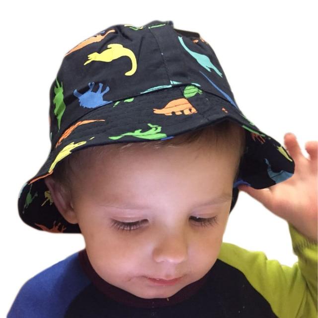 840702bc6fe 1-4Y New Children Baby Hat Boy Sun Hats Spring Summer Caps Cotton Bucket Hat