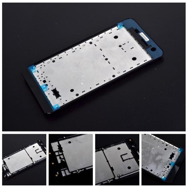 Retail 100% Genuine new Middle housing for Asus zenfone 5 a501cg a500cg t00j LCD Touch Screen Bezel Frame with 3m glue sticker