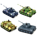 Stock brand new Great Wall RC Battle Tank 14CH 1:72 Scale Remote Control Simulated Panzer Tiger Mini Tank Children Toys Gift