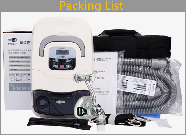 Doctodd GI CPAP Newest BMC CPAP Machine Anti Snoring CPAP Breathing Sleeping Aiding CPAP Respirator Ventilator With Free Parts 10