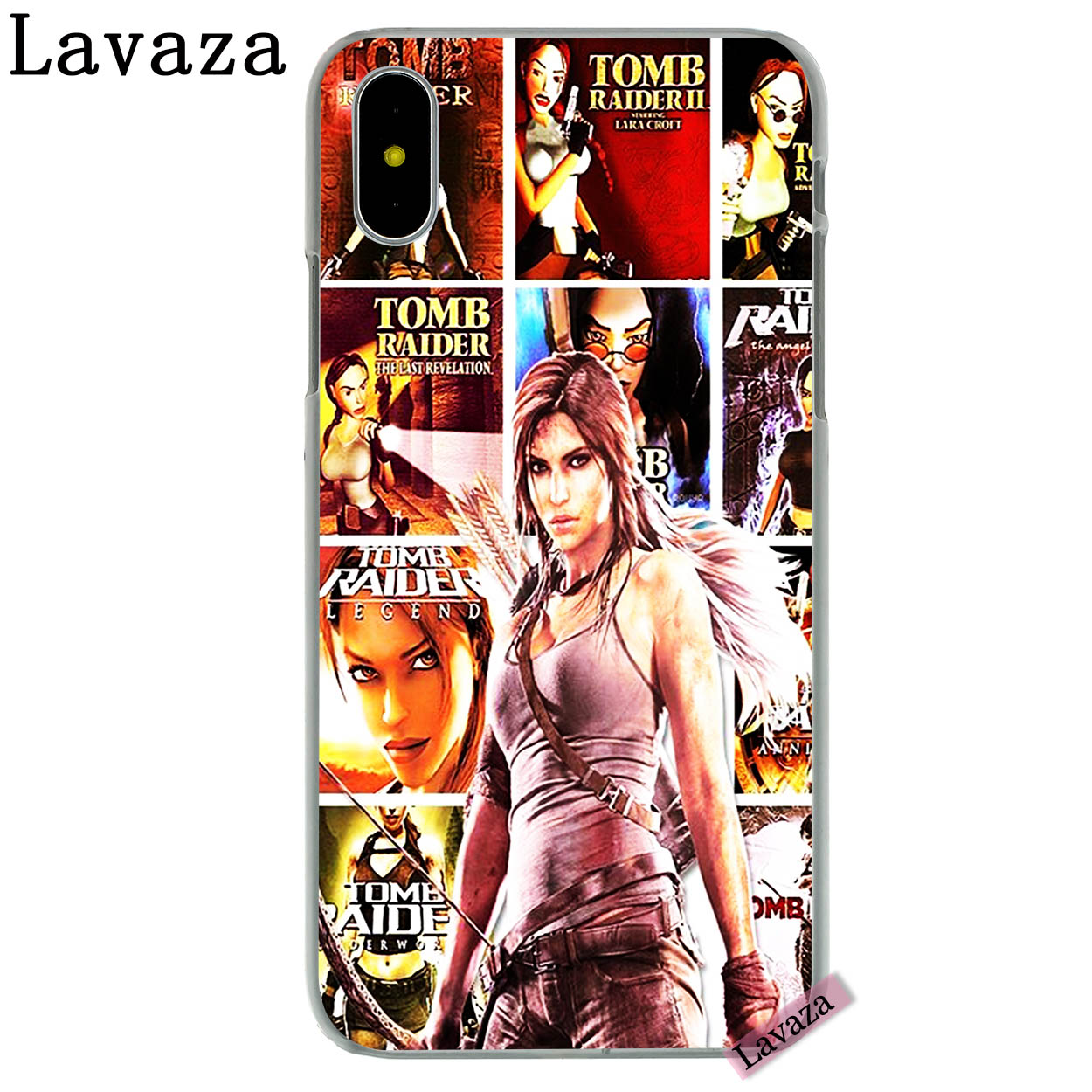 1//6 Scale Toy Laura Croft x8 Female Hand Set