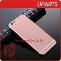 Высокое Качество Для Iphone 6 6G как 6 s Корпус Серый Белое Золото розовый Металлический Сплав Задняя Крышка С Кнопкой С Сим Лоток Свободный Корабль