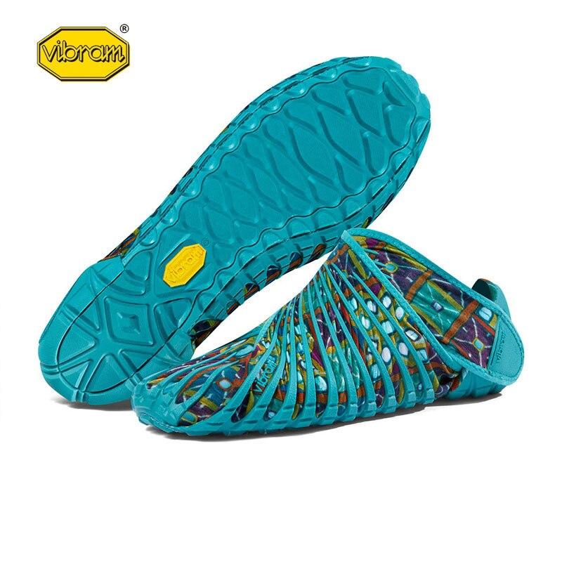 2019 Vibram cinq doigts Super léger chaussures de course Bat chaussures enveloppé dans des chaussures en tissu pour hommes femmes chaussures de Sport en plein air - 5