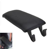 High Quality Black Car Armrest Arm Rest Center Console Lid Box Cover For Audi 2000 2005